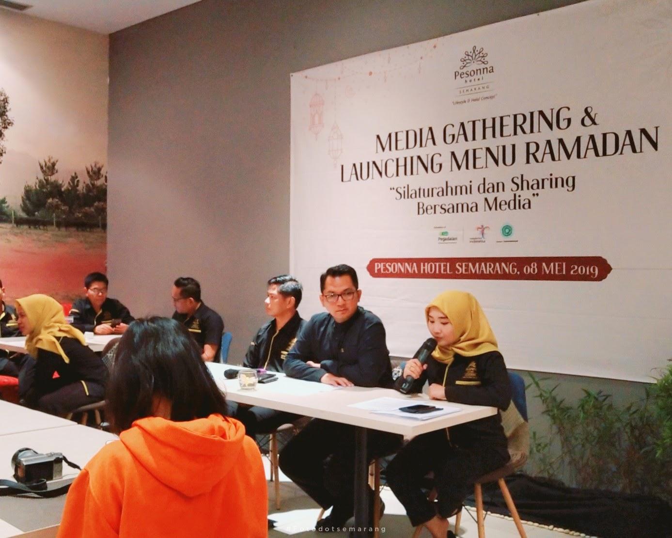 Puasa 2019, Pesonna Hotel Semarang Kenalkan GM Baru dan Launching Menu Buka Puasa