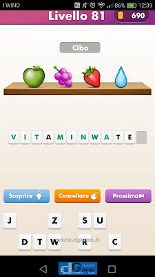 Emoji Quiz soluzione livello 81