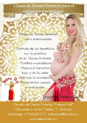 Clases de danza oriental para embarazadas, Granada
