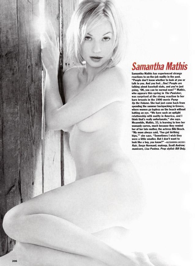 Samantha Mathis Desnuda Para Revista Allure Neiked Wumen