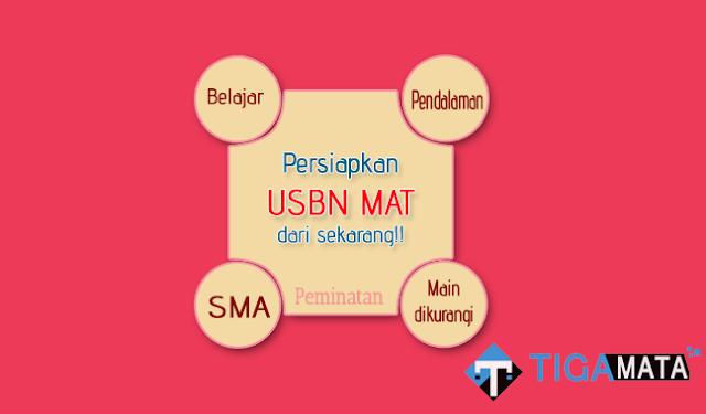 Prediksi Soal USBN Matematika Peminatan SMA 2019
