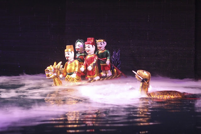 Dao Thuc Village water puppetry lures visitors 4