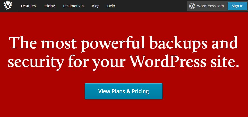 Valutpress backup plugin for wordpress