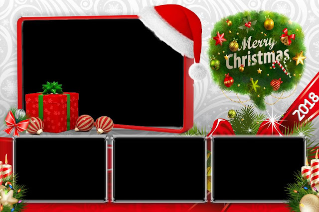 Download Christmas Dsrlbooth template PSD