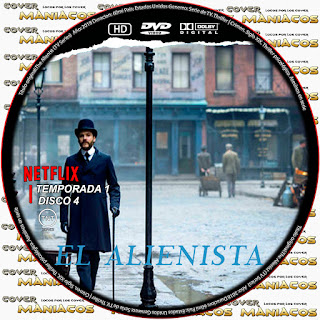 [SERIE DE TV] The Alienist - EL ALIENISTA 2018 [COVER DVD]