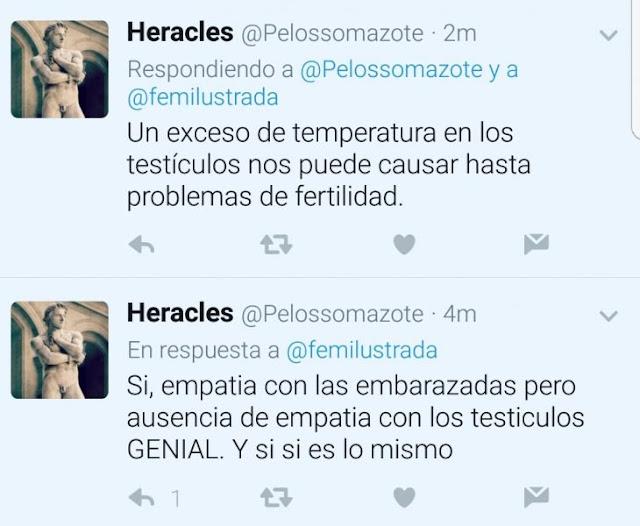 Feministas españolas crean un movimiento para acabar con la libertad de nuestros testículos