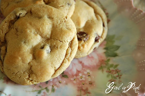 Girl In Pink: What Is It About A Chocolate Chip Cookie?