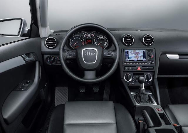 Audi A3 de segunda geração - interior