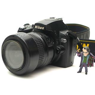 kamera DSLR Nikon D60 Bekas