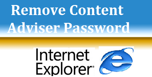 Remove Content Adviser Password