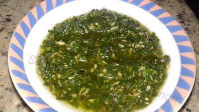 Pesto de Manjericão