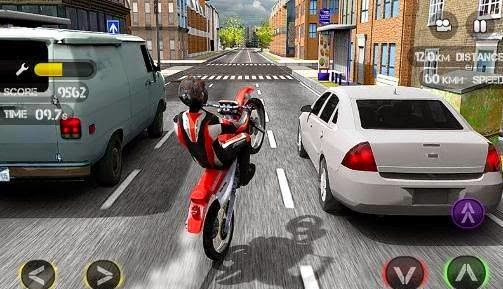Download Race The Traffic Moto 3D HD