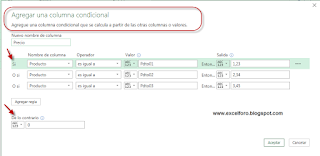 El Condicional con Power Query en Excel