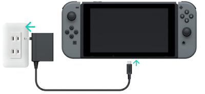 Nintendo Switch Charging Light