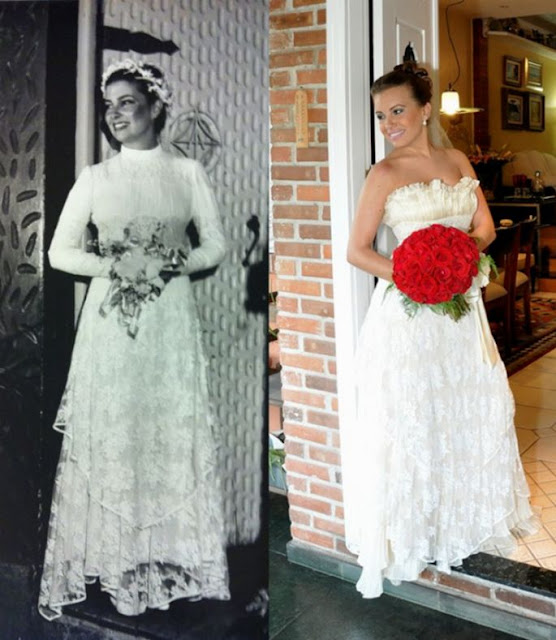 vestido de noiva mãe