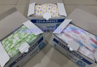 DIAPRO Masker Hijab / Earloop 50's (1box=50pcs)