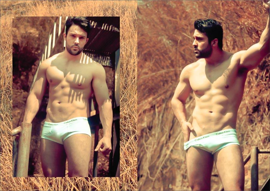 Maycon Bertolin posa para ensaio sensual. Foto: Muel Tsunamy