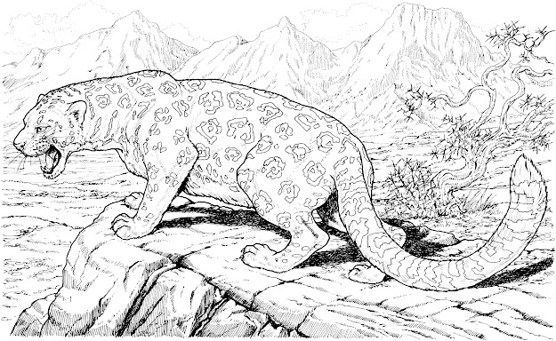Detailed Animal Coloring Pages Or Outstanding Detailed Animal