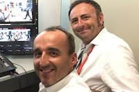 Robert Kubica Roberto Chinchero F1 Williams