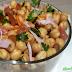 Salada de Grão de Pico Fácil