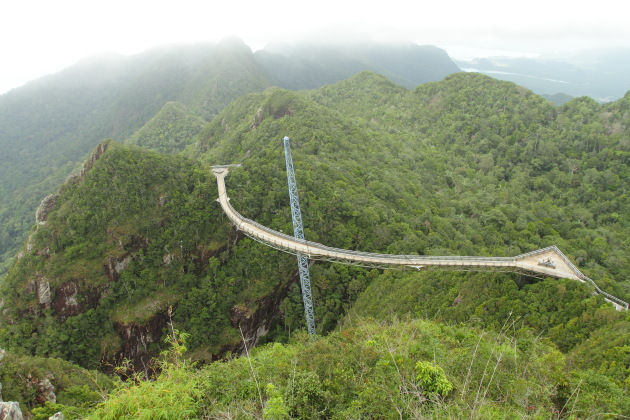 Skybridge at Langkawi cable car, Malaysia