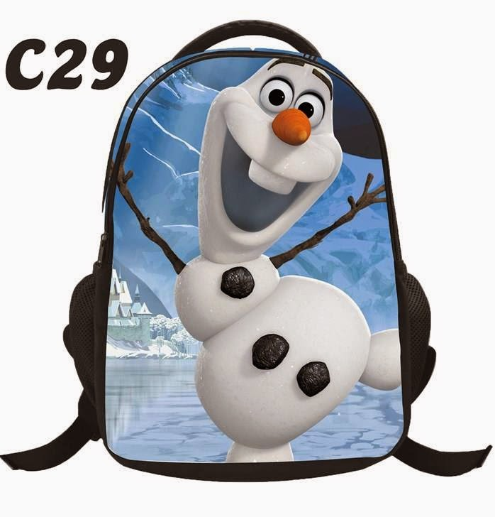 Rich Sista Collections Bagpack Frozen Spiderman