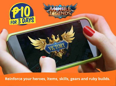 TNT ML10 Promo : Play Mobile Legends for 3 Days for Only 10