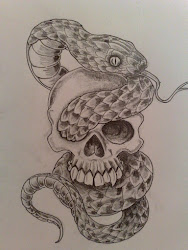 snake tattoo drawing easy rose simple getdrawings personal realistic tatto