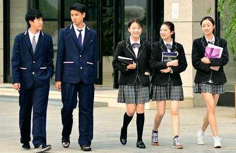 الزي المدرسي في كوريا الجنوبية