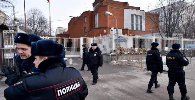 عناصر من الشرطة الروسية - أرشيفية