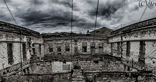 PHOTOGRAPHY OF THE OLD IDAHO PENITENTIARY