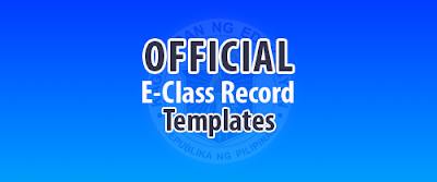 Official EClass Record Templates