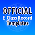 Official DepEd E-Class Record Templates