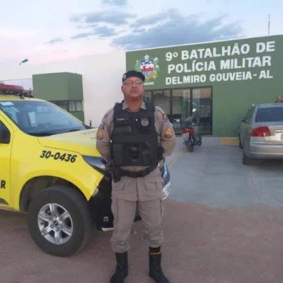 Subtenente Paulo Guerra, morre aos 55 anos em Delmiro Gouveia