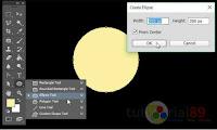 Cara membuat gerhana matahari total dengan photoshop