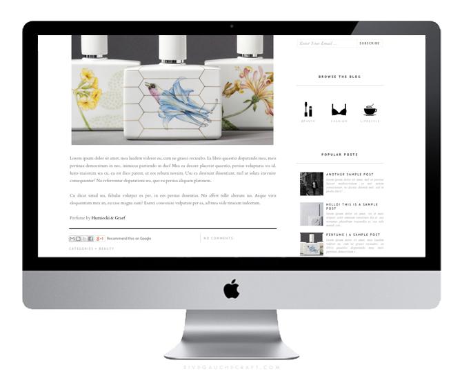 Branding & Blog Design by Rive Gauche Craft