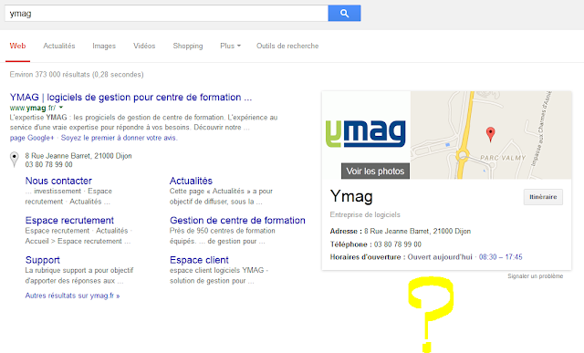 requetes locales n'affichent plus le post google plus dans le google graph