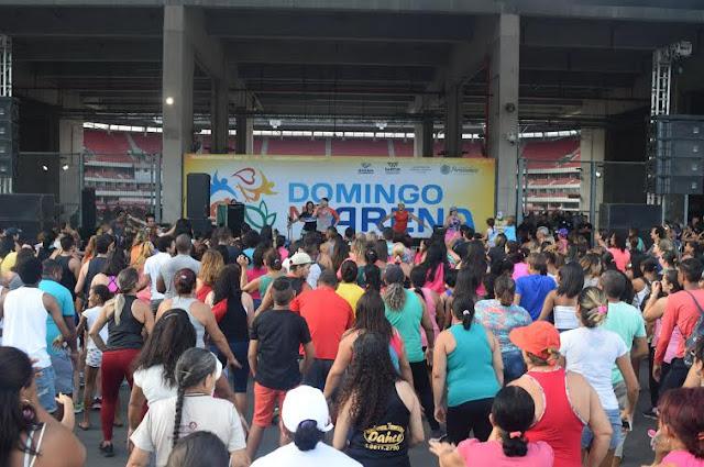 Domingo na Arena em Pernambuco Arena Pernambuco