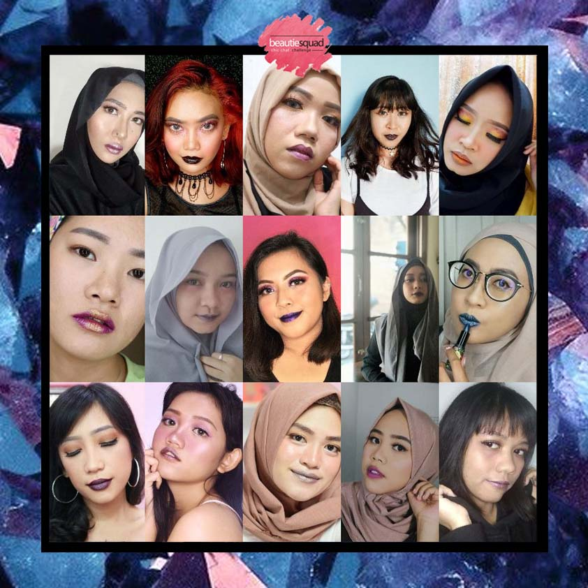 ANTI-MAINSTREAM LIPS COLOUR MAKEUP COLLABORATION WITH BEAUTIESQUAD