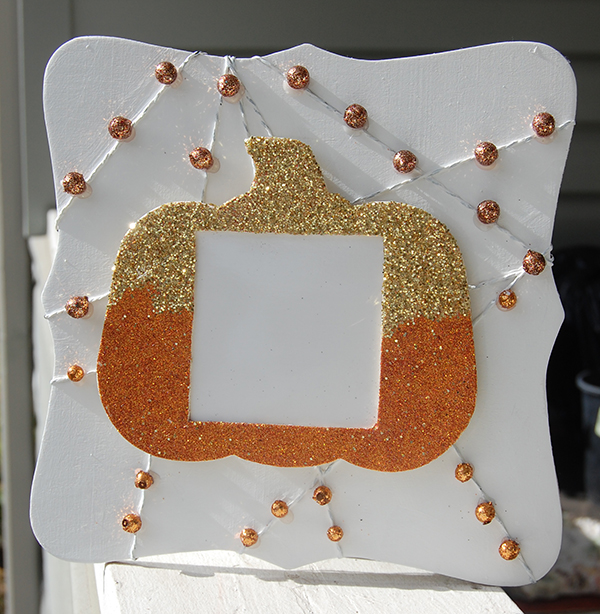 Pumpkin Dry Erase Thanksgiving Board DIY