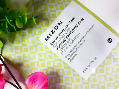 Mizon Enjoy Vital-Up Time Soothing Mask