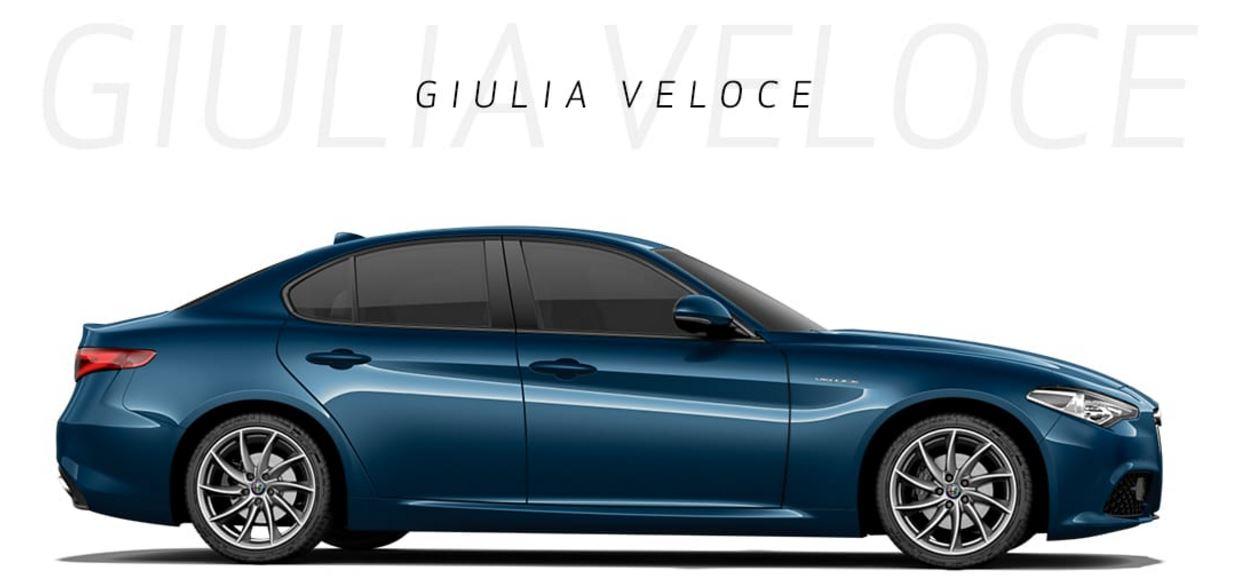 Alfa Romeo Giulia Veloce 2017 Dimensioni e Misure bagagliaio