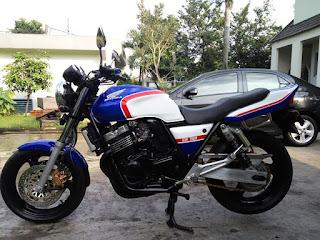 LAPAK MOGE Honda CB 400 th 1997 Dijual Cepat - JAKARTA