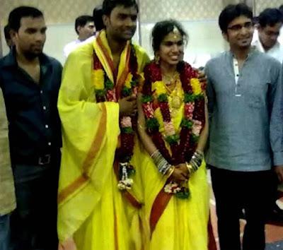 Hemachandra and Sravana Bhargavi  wedding photo000015