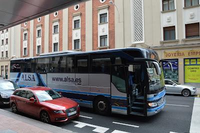 El autobús del Magistral de León