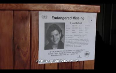 teresa halbach's endangered/missing poster