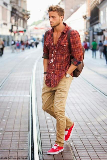 Como usar calça marrom com tênis (1)