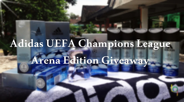 Adidas UEFA Champions League Arena Edition Giveaway