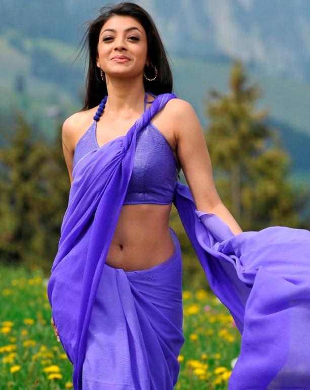 Kajal Agarwal Hot Pics - Actress Navel Show-8819
