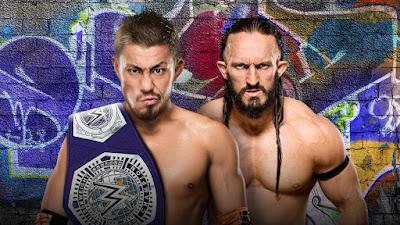 Akira Tozawa vs. Neville WWE Cruiserweight Championship